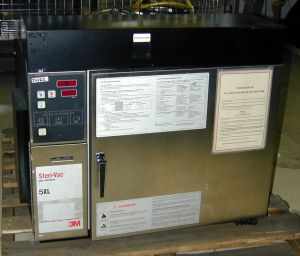 3M 5XL (ethylene oxide) Bench-model or Floor-model Autoclave Sterilizer