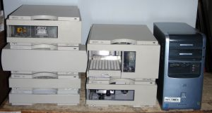 Agilent 1100 Series (G1314A) UV-Visible HPLC System
