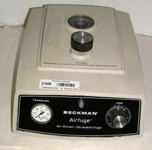 Beckman Airfuge J4 (340400) Bench-model, High-speed Centrifuge