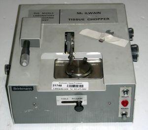 Brinkmann McIlwain Tissue Chopper Tissue Processor