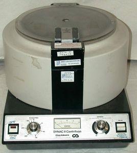 Clay Adams Dynac II Bench-model Centrifuge
