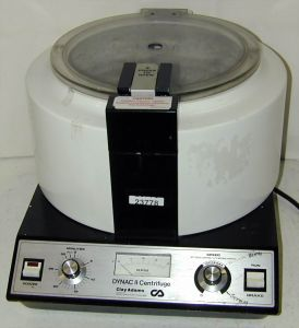 Clay Adams Dynac II Bench-model Centrifuge