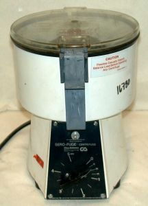 Clay Adams Sero-fuge Bench-model, Fixed-speed Centrifuge
