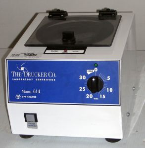 Drucker 614L (Demo) Bench-model, Fixed-speed Centrifuge