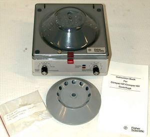 Fisher Scientific Compac 10V Microcentrifuge