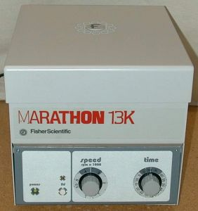 Fisher Scientific Marathon 13K Bench-model Centrifuge