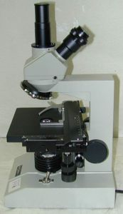 Fisher Scientific Micromaster EDHL-4 Monocular Microscope