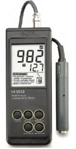 Hanna Instruments HI 9033 Digital, Hand-held Conductivity Meter