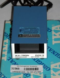 IKA DZM 5 S1 Revolution Counter for Homogenizer