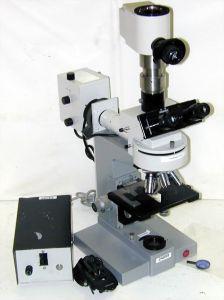 Leitz Dialux UFX-DX Fluorescence, Trinocular Microscope