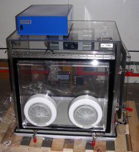 Plas-Labs 830-ABC/SP/NANO  230V/50Hz Glove Box