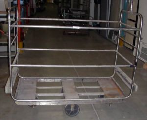 Stainless Steel Shop or Laboratory Cart
