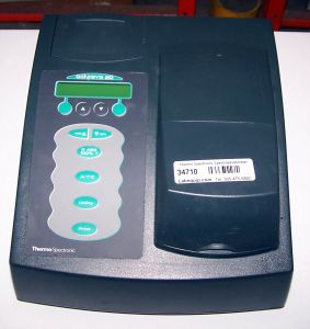 Thermo Spectronic Genesys 20 (4001/4) Visible Spectrophotometer