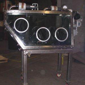 Walker Stainless Equipment  Portable Glove Box