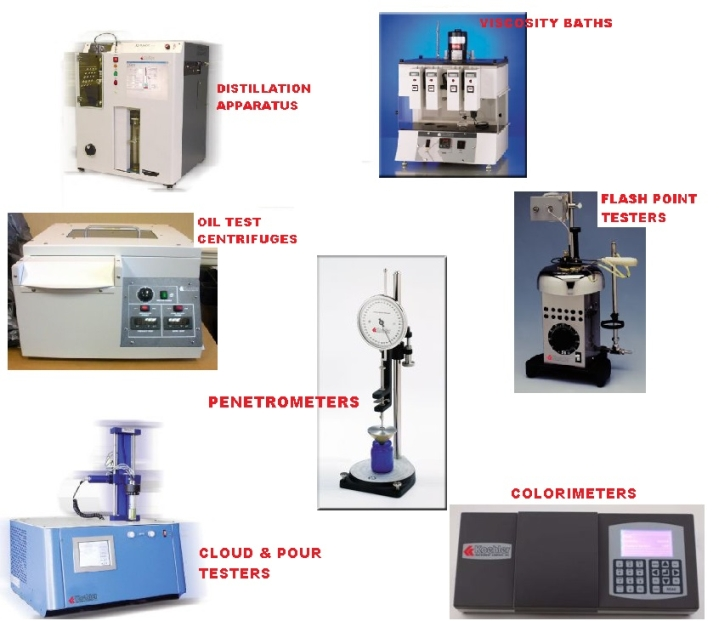 images of ASTM methods equipment